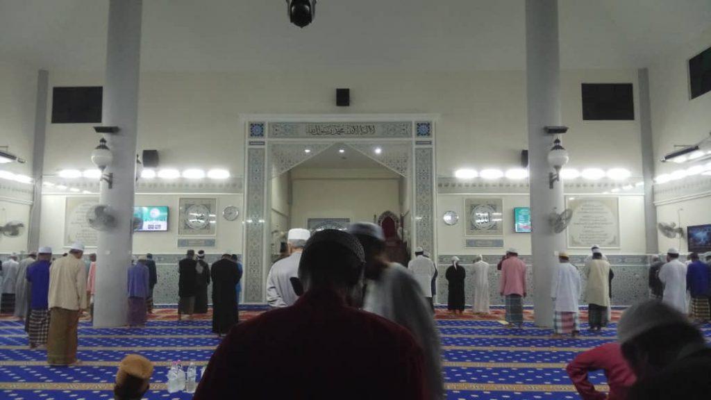 sistem paparan tv masjid