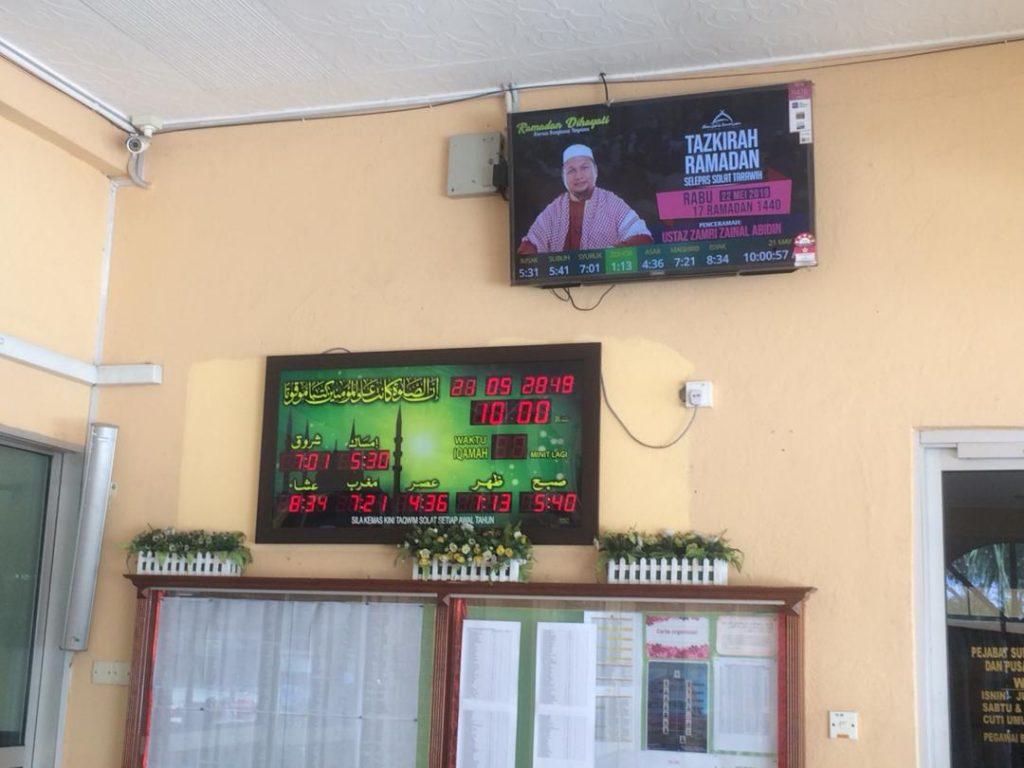 sistem tv masjid