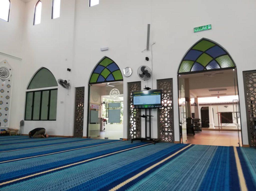 Sistem Taqwim dan Info TV Masjid