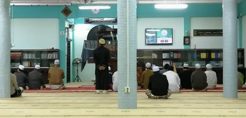 Sistem Waktu Solat dan Info TV Masjid