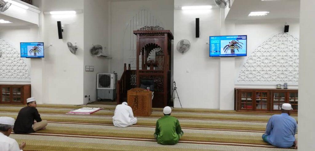 Sistem Solat Masjid dan Info TV